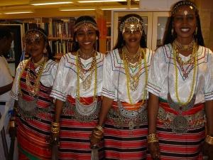 Young Afar women