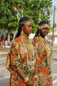 Two Afar (djibouti tribes) girls