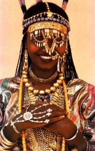 Young Afar Bride