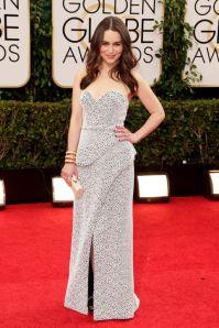 Emilia Clarke in Proenza Schouler dress