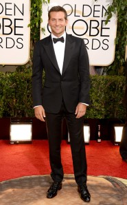 Best Supporting Actor in a Comedy and American Hustle actor Bradley Cooper in Tom Ford