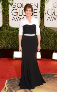 Julia Roberts'  gown made by Dolce and Cabana