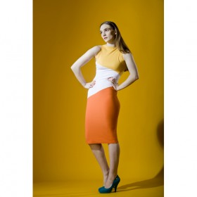 For that date night why not wear they silhoutte colorful Bilistiche collection by Rebecca Torres from SS 2012 collection