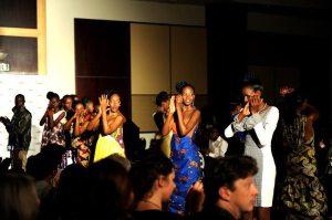 Joselyne Umutoniwase from her RWANDA CLOTHING Summer SHOW 2012