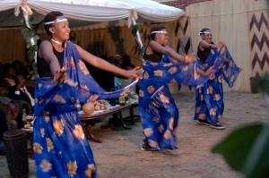 Rwandese dancers