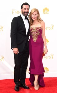 JON HAMM INTOM FORD   & JENNIFER WESTFELDT IN MARCHESA