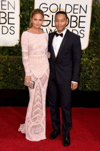 Chrissy Teigen in a Zuhair Murad) and hubby and golden globes winner John Legend will be my favoritre couple of the evening