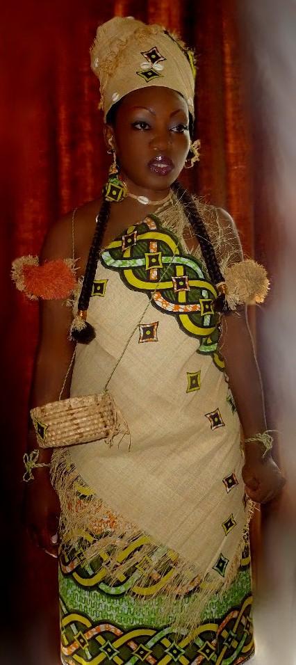 Bihar village femmes robe